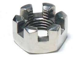 Steel Zinc Plated Castle Nuts