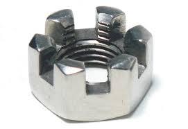 Steel Zinc Plated Castle Nuts