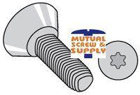 Steel Zinc Plated Torx_ Flat Undercut Head Tri-lobular TT  Thread Rolling Screws