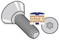 Steel Zinc Plated Torx_ Flat Undercut Head Tri-lobular  Thread Rolling Screws