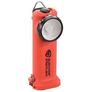 Survivor® LED Class 1, Division 1 Flashlight (Alkaline Model, Non-Rechargeable), Orange