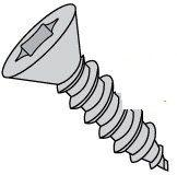 Torx® Flat Head Steel Zinc Plated Type A Sheet Metal Screws