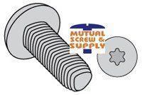 Torx_ Truss Head Steel Zinc Bake Wax Plated Tri-lobular TT  Thread Rolling Screws