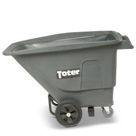 Toter Gray 1/2 Cubic Yard/825lb. Capacity Standard Duty Tilt Truck