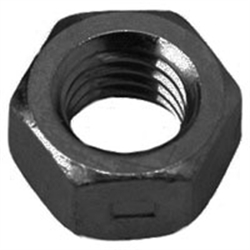 Two Way Steel Black Zinc Plated & Wax Lock Nuts