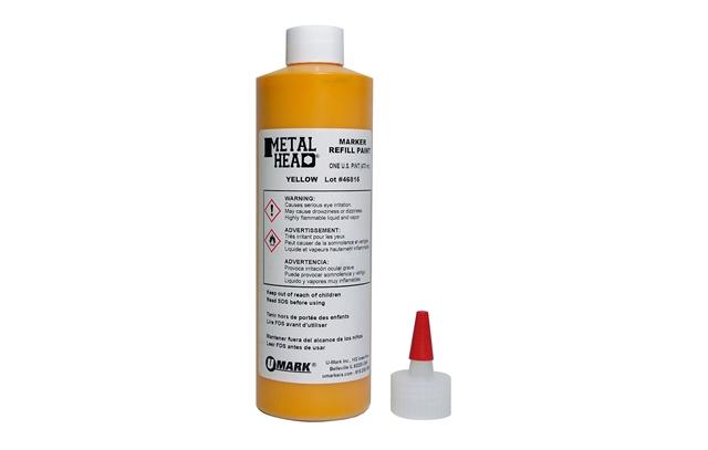 U-Mark Metalhead Paint Refills: Orange