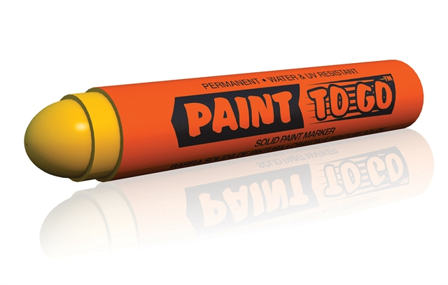 U-Mark Paint to Go Solid Paint Marker- 12 Pack: Red