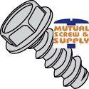 Unslotted Indented Hex Washer Head 18/8 Sstainless Steel Type B Sheet Metal Screws