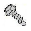 Unslotted Indented Hex Washer Head Steel Zinc Plated #3 Point Self Drilling Screws
