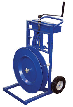Vertical/Horizontal Strapping Cart