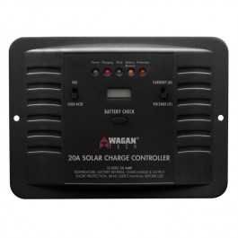 Wagan 20A Solar Charge Controller