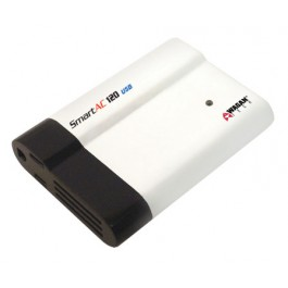 Wagan SmartAC 120+USB w/Airline Adapter