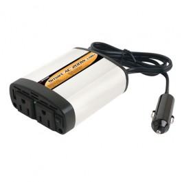 Wagan SmartAC 200+USB/2 AC Outlets 5V2.1A USB