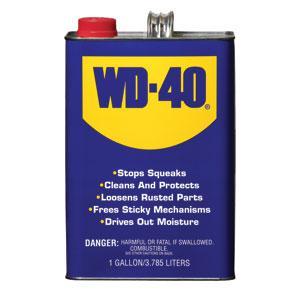 WD-40® Bulk Liquids, 1 gal, 4/Case
