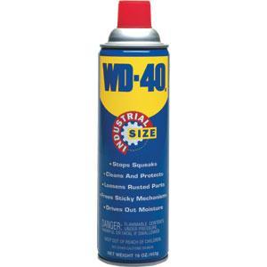 WD-40® Industrial Size Lubricant, 16 oz Aerosol