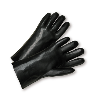 West Chester Standard 14 Smooth Grip PVC Interlock Chemical Resistant Gloves