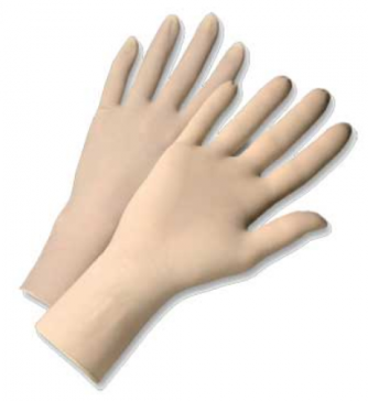 West Chester 4 Mil Industrial Grade Powder Free Latex Gloves