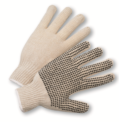West Chester 708SK PVC Dotted String Knit Gloves