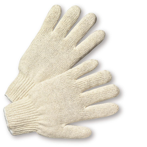West Chester 712S Heavy Weight String Knit Poly/Cotton Gloves