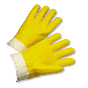 West Chester J1017YBT Smooth Grip PVC Coated Gloves