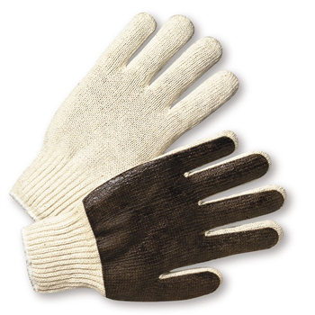West Chester K708SPC PVC Palm Coated String Knit Gloves