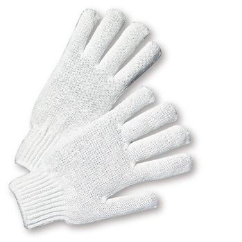 West Chester K710SBW Bleach White Medium Weight String Knit Work Glove