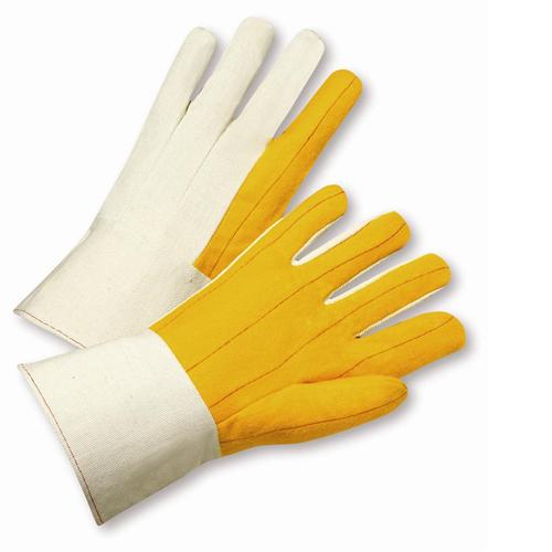 West Chester M18G Medium Weight Canvas Back Chore Palm Gauntlet Cuff Gloves