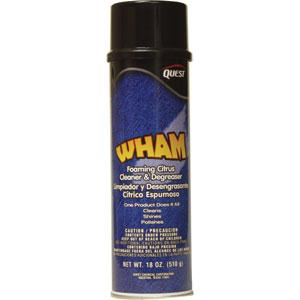 Wham Foaming Citrus Cleaner & Degreaser, 18 oz