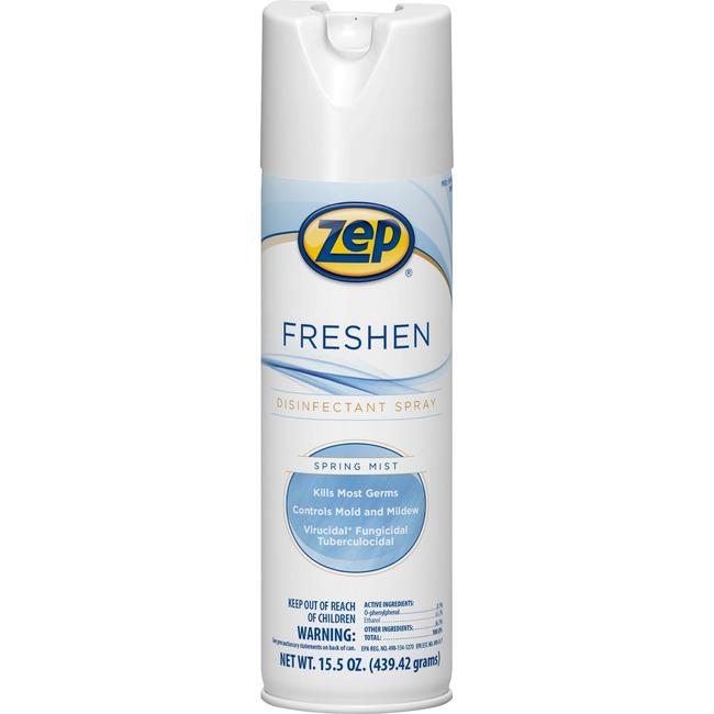 Zep Commercial Freshen Disinfectant Spray 15.5 OZ AEROSOL